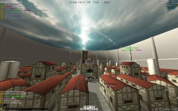 Attack On Titan Tribute Game : ปุ่ม ...