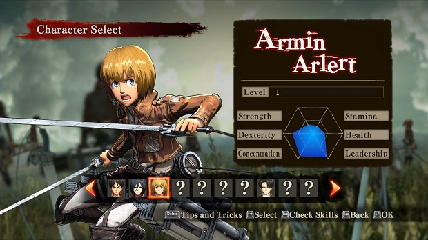 Attack-on-Titan-Wings-of-Freedom-Armin-Arlert