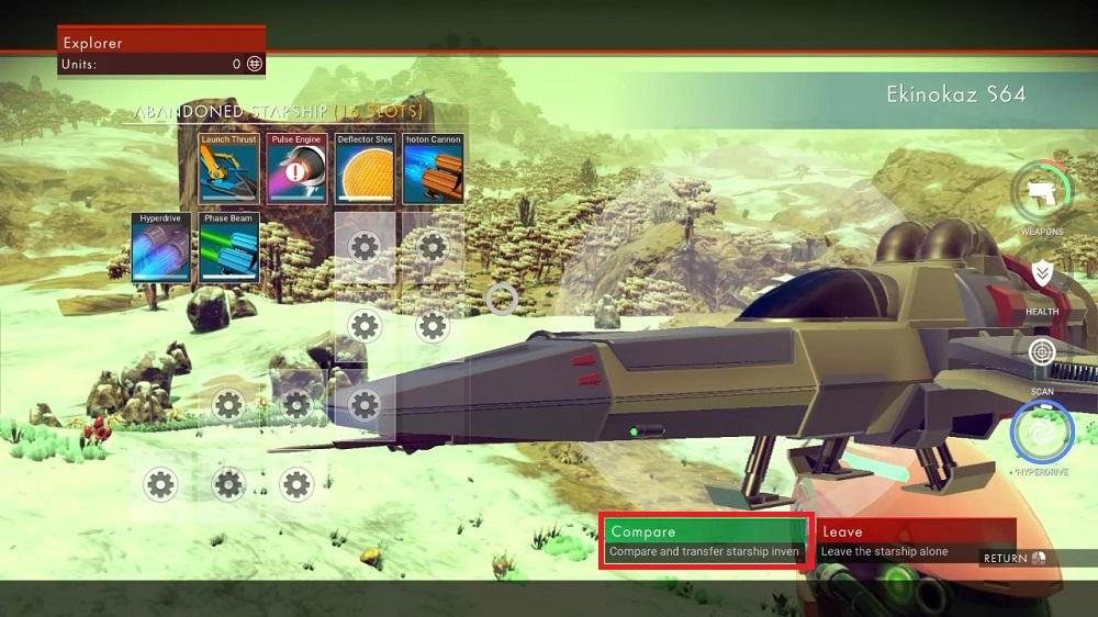 No Man S Sky Horizon Omega Ship 05 Thaigameguide ศูนย์